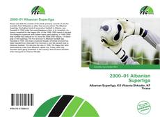 Bookcover of 2000–01 Albanian Superliga