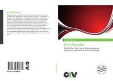 Emil Maurice kitap kapağı