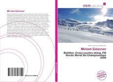 Bookcover of Miriam Gössner