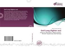 Bookcover of Emil Lang (fighter ace)