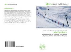Buchcover von Martina Beck