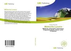 Météorite Lunaire kitap kapağı
