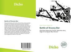 Buchcover von Battle of Krasny Bor
