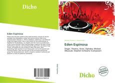 Portada del libro de Eden Espinosa