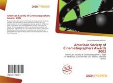 Copertina di American Society of Cinematographers Awards 2002