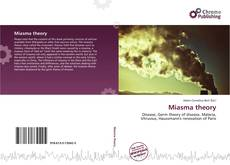 Bookcover of Miasma theory