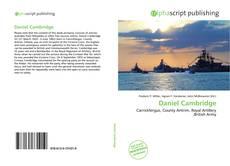 Portada del libro de Daniel Cambridge