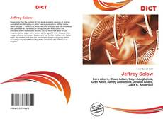 Bookcover of Jeffrey Solow