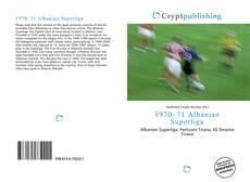 Bookcover of 1970–71 Albanian Superliga