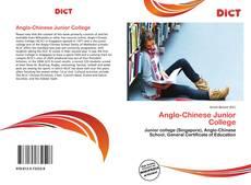 Anglo-Chinese Junior College kitap kapağı