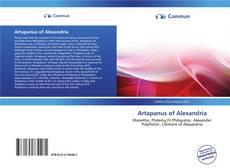 Bookcover of Artapanus of Alexandria