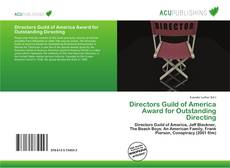 Bookcover of Directors Guild of America Award for Outstanding Directing