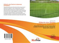 Portada del libro de Gilberto dos Santos (Lebanese footballer)