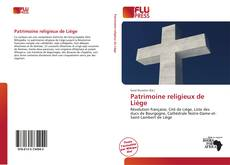 Patrimoine religieux de Liège kitap kapağı
