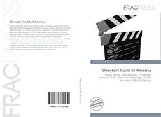 Couverture de Directors Guild of America