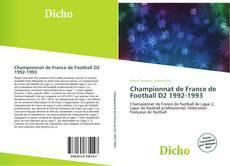 Bookcover of Championnat de France de Football D2 1992-1993