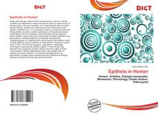Bookcover of Epithets in Homer