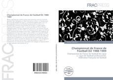 Championnat de France de Football D2 1988-1989 kitap kapağı