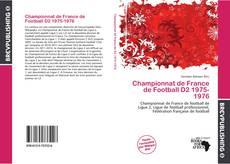 Buchcover von Championnat de France de Football D2 1975-1976