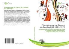 Bookcover of Championnat de France de Football D2 1971-1972