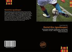 Capa do livro de Daniel Kiss (goalkeeper)