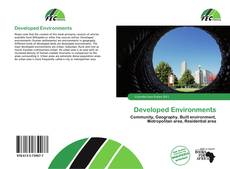 Bookcover of Developed Environments