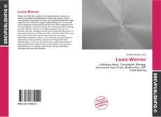 Buchcover von Louis Werner