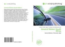 General Motors South Africa kitap kapağı