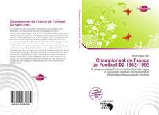 Capa do livro de Championnat de France de Football D2 1962-1963