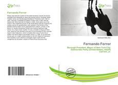Buchcover von Fernando Ferrer