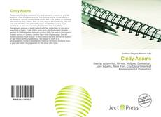 Bookcover of Cindy Adams