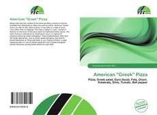 "Capa do livro de American ""Greek"" Pizza"