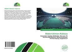 Couverture de Abderrahman Kabous