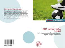 Bookcover of 2001 Latvian Higher League