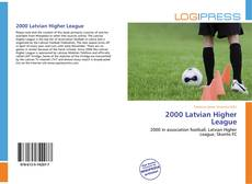 Bookcover of 2000 Latvian Higher League