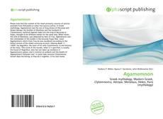 Capa do livro de Agamemnon