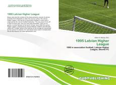 Bookcover of 1995 Latvian Higher League