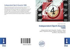 Bookcover of Independent Spirit Awards 1986