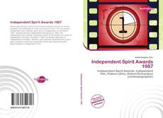 Bookcover of Independent Spirit Awards 1987