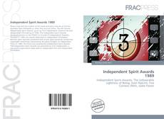 Bookcover of Independent Spirit Awards 1989