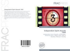 Independent Spirit Awards 1993 kitap kapağı