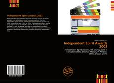 Bookcover of Independent Spirit Awards 2003