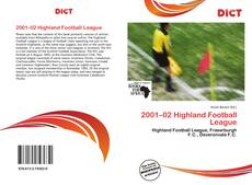 Обложка 2001–02 Highland Football League