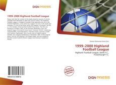 Bookcover of 1999–2000 Highland Football League