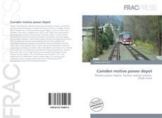 Portada del libro de Camden motive power depot