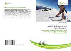 Capa do livro de Monika Bergmann-Schmuderer