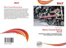 Bookcover of Metro Transit Rolling Stock