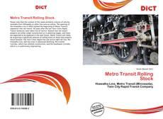 Capa do livro de Metro Transit Rolling Stock
