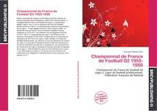 Championnat de France de Football D2 1955-1956 kitap kapağı