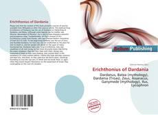 Bookcover of Erichthonius of Dardania